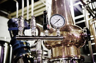 Prohibition Distillery's beautiful spirit producing process
