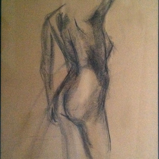 Life Drawing Figure 1