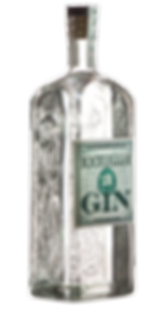 Bootlegger 21 NY Gin 750 ML side view