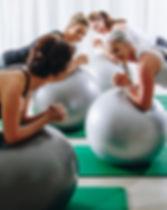 ladies pilates retreat class on the sunshine coast, queensland, australia