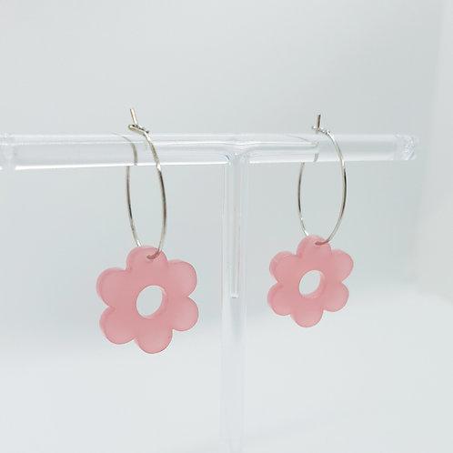 Primrose Mini Hoops rosa
