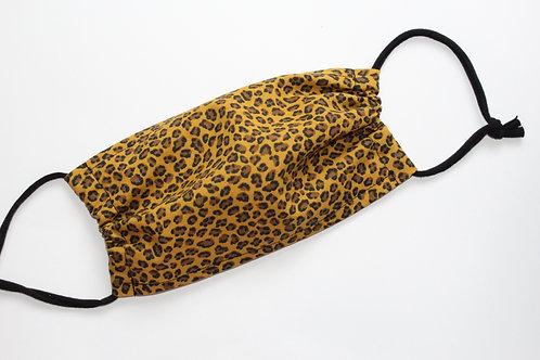 Leopard Maske einlagig