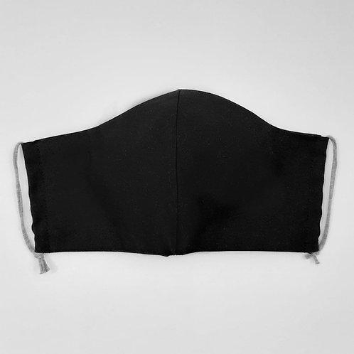 Schwarz Maske