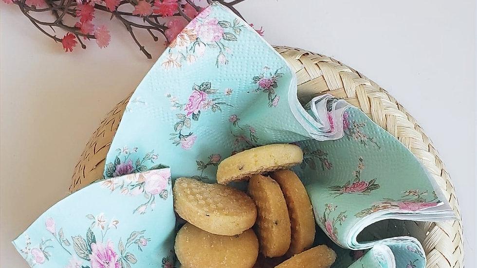 Biscotti de Fubá com Erva Doce 200g