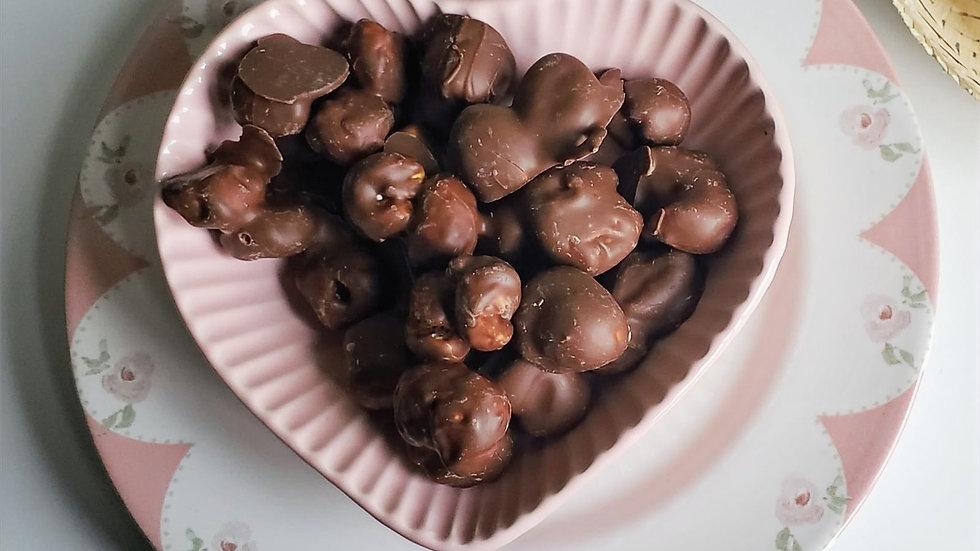 Pipoca Caramelizada ao Chocolate