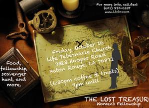 The Lost Treasure - Women's Fellowship
