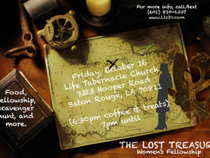 The Lost Treasure - Women's Fellowship