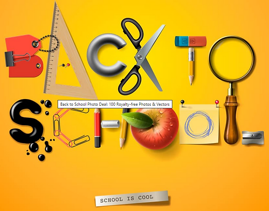 20 + Back to School Clipart: Largest Kit 2019
