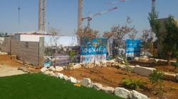 גידור אתרי בניה - גדר מדבר