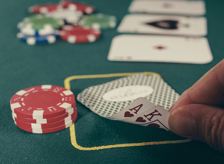 Are people who gamble happier than the ones who abstain from it?