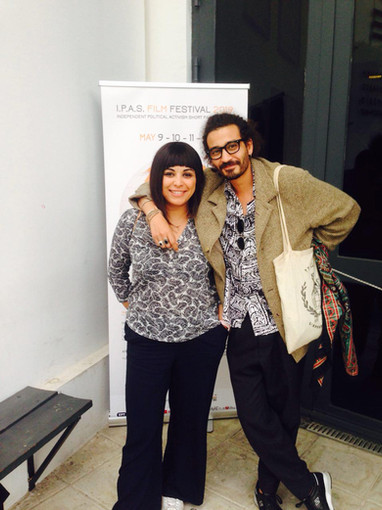 Malika Zairi director of the film Assia and Faical Ben director of film Ales