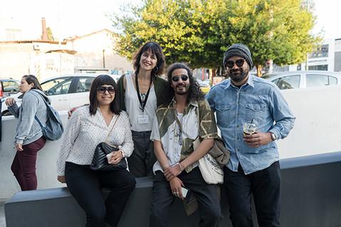 Artemis Livadarou Founder of i.P.A.S. with Malika Zairi director of Assia, Faical Ben director of Ales and Michail Demetriou director of Evripidou 14