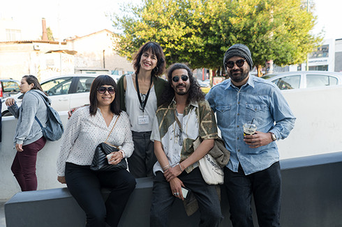 Artemis Livadarou Founder of i.P.A.S. with Malika Zairi director of Assia, Faical Ben director of Ales and Michail Demetriou director of Evripidou 14
