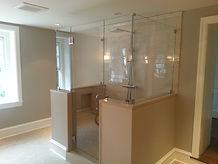 Frameless Seamless Custom Glass Shower