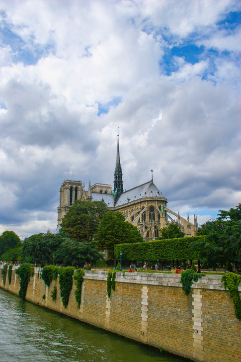 Notre-Dame de Paris & the Seine
