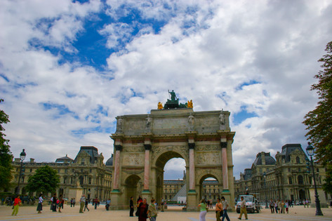 Entrence to the Louvre