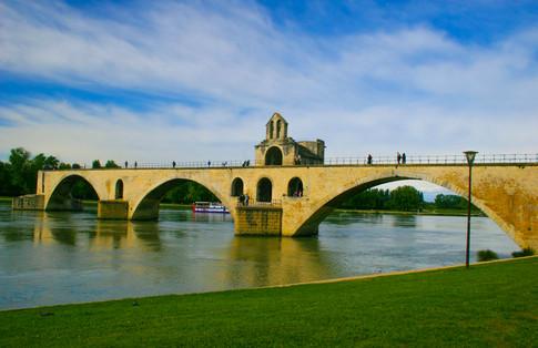 Pont Saint-Bénézet, Avignon Buily 1177 A.D; Avignon