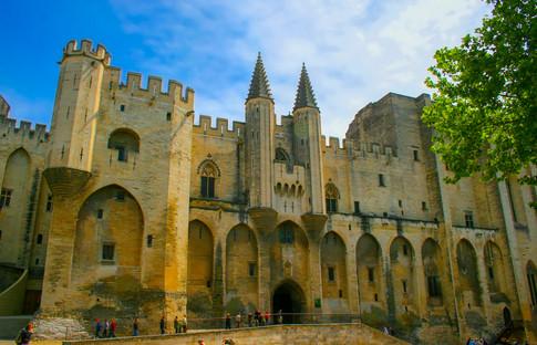 Palais des Papes Gate; Avignon