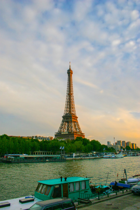 Seine and Eiffel