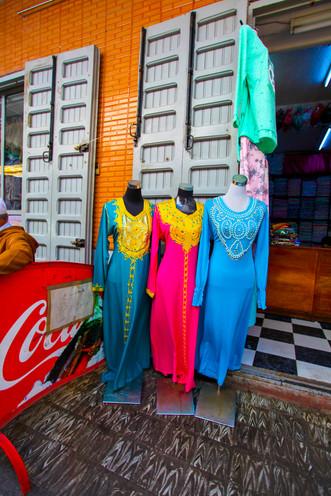Beautifally Colorful Local Fashion, Tetouan