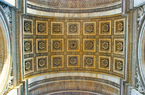 Looking up in the Arch of the Arc'