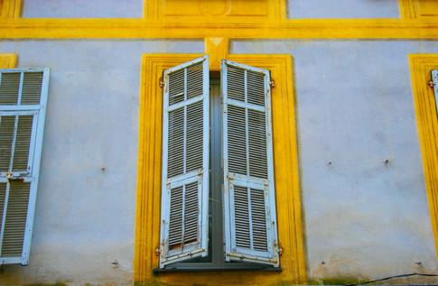 Open & Closed Shutters; Nice