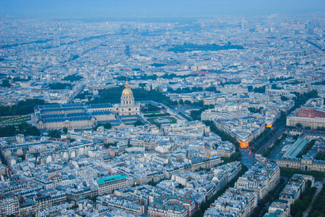 Paris from the Eiffel