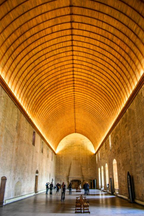 Palais des Papes Grand Chapel; Avignon