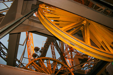 Inner workings of the Eiffel Tower