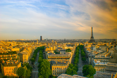 Paris from the Arc'