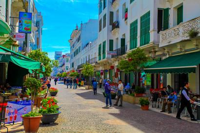Avenue Mohamed V, Tetouan