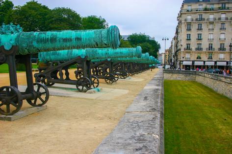 Les Invalides & Moat