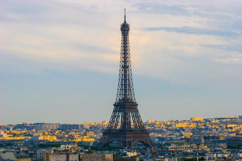 Eiffel from the Arc'