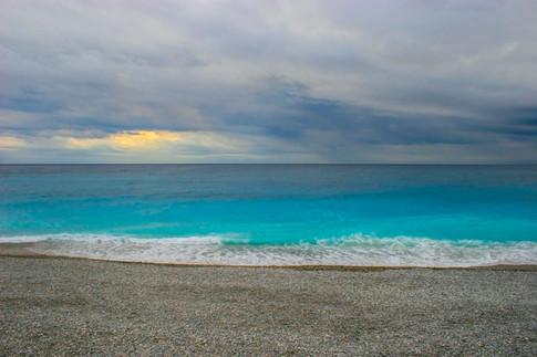 Mediterranean Glow on the beaches of Nice
