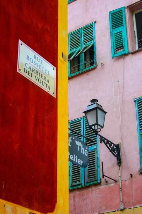 Rue Rossetti; Nice