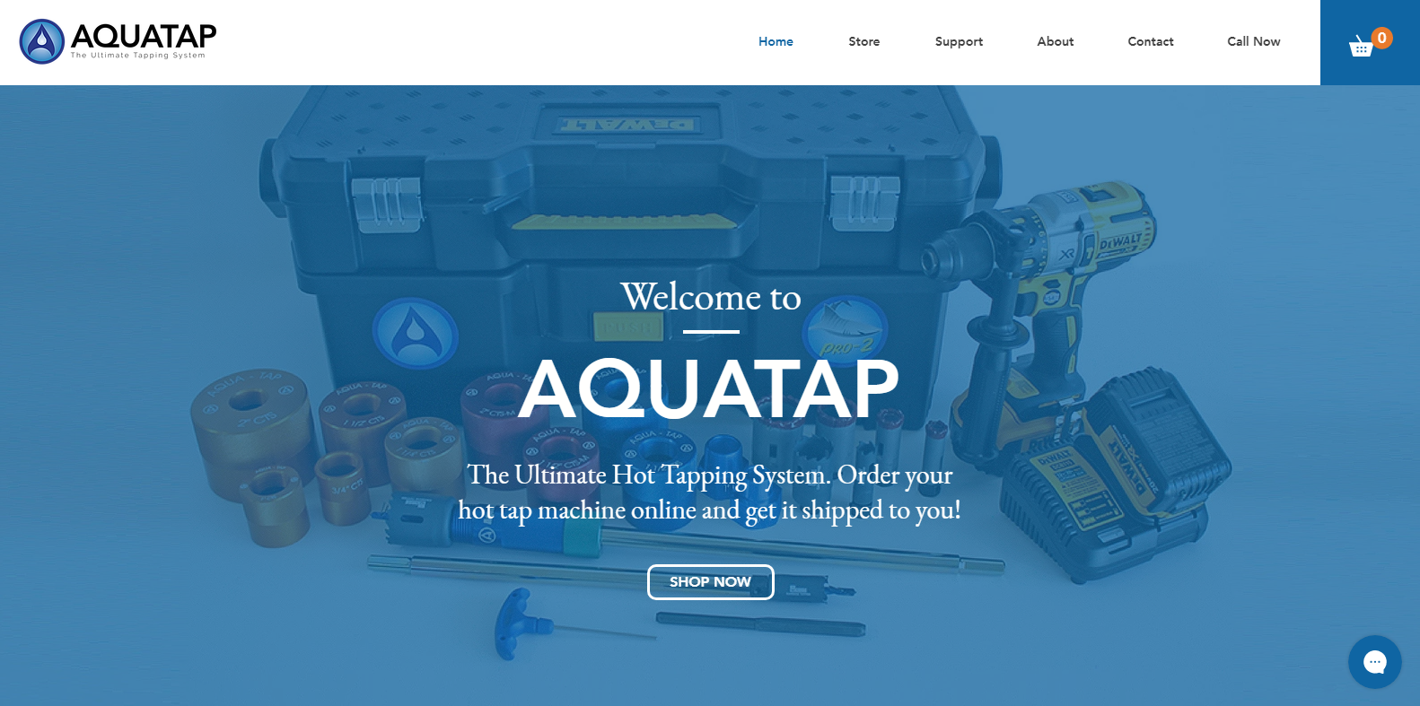 The Ultimate Hot Tapping Machines from AquaTap made in