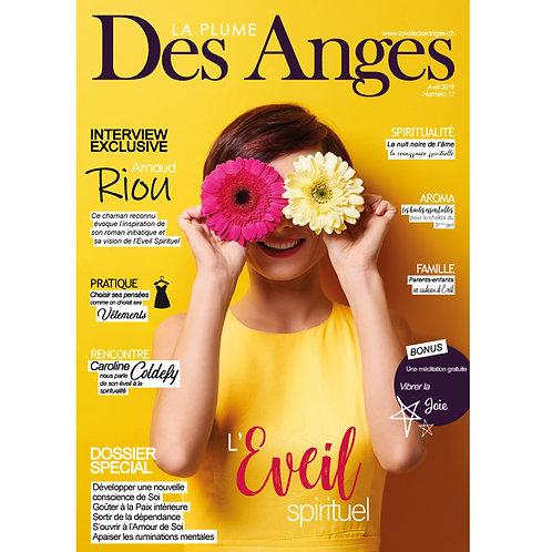 La Plume des Anges, Numéro 17, Avril 2019, Numérique