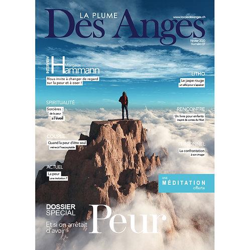 La Plume des Anges, Numéro 27, Février 2020, Imprimé