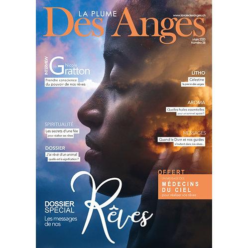 La Plume des Anges, Numéro 28, Mars 2020