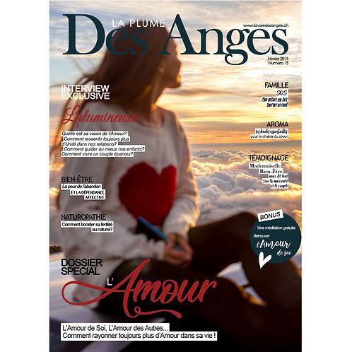 La Plume des Anges, Numéro 15, Février 2019, Numérique