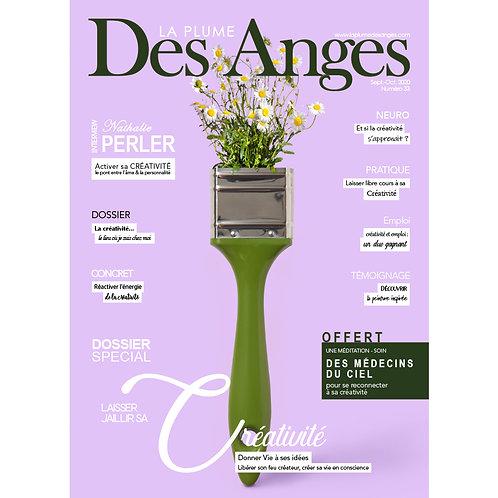 La Plume des Anges, Numéro 33, Sept.-Oct. 2020, Imprimé