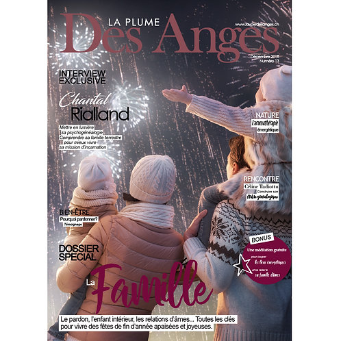 La Plume des Anges, Numéro 13, Décembre 2018, Imprimé