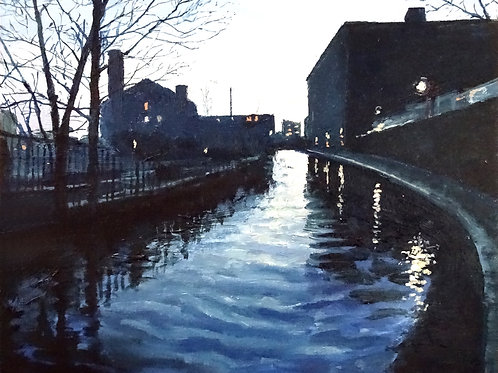 Rochdale Canal (winter's evening)