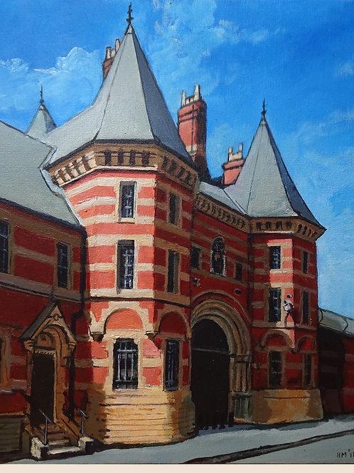"HMP Manchester Old Gatehouse 8""x10"" giclée fine art print (mounted)"