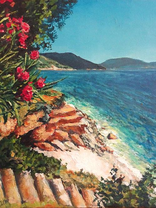 Paradise Beach near Agia Efimia