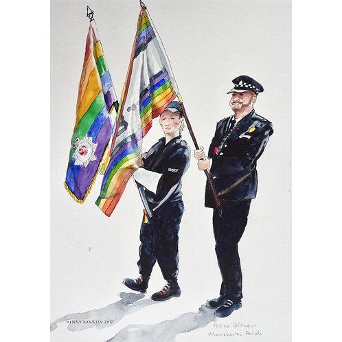 """Policing at Pride"" Manchester Pride 2017"