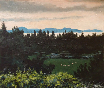 Paliki Peninsula - Evening view from Mag