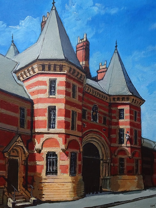 HMP Manchester Old Gatehouse A3 giclée fine art print (unmounted)