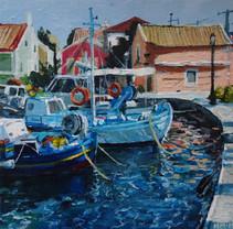 Fiskardo Harbour II 8x8.jpg