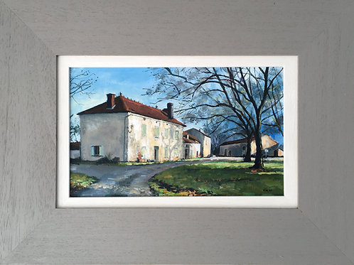 Charentais House, just before Christmas 2020